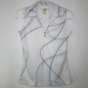 IZOD Perform Basix Cool-FX White Top, size XS